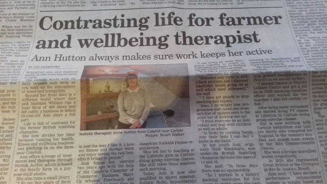Hutton Active in the News